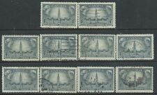 Canada #277(1) 1948 4 cent RESPONSIBLE GOVERNMENT PARLIAMENT BUILDINGS 10 Used