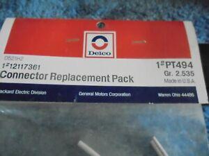 Pigtail Voltage Regulator Connector Delco  pt494 alternator Socket
