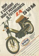 X1325 Moto SWM - Pubblicità del 1980 - Vintage advertising
