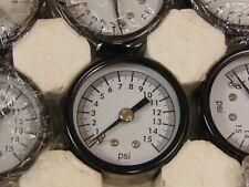 1 18 Npt Air Pressure Gauge 0 15 Psi Back Mt 15 Face