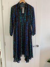 Mint Velvet Alex Print Trapeze Dress Size 8 NWT