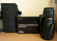 Sigma EX OS HSM 70-200 mm DG F/2.8 APO Lente Per Canon EF