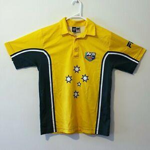 Vintage Retro ACB Australia Cricket Team Jersey - Size 8 Youth/Junior