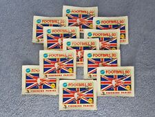 1980 - UNOPENED PACKET OF PANINI 80 FOOTBALL STICKERS - EXCELLENT CONDITION