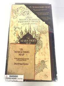 The Marauder's Map (Interactive) From Warner Bros Studio Tour Universal Rare