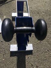 Vintage Bun dumbells dumbell IVANKO Bfco York 20 weights  Rare curl bar BARBELL