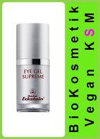 Eye Gel Supreme feuchtigkeitsspendendes Gel ist ölfrei Dr.Eckstein BioKosmetik