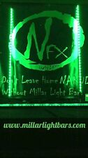 2ft quick disconnect green LED light whip SXS ATV UTV rzr 4 wheeler RZR TERYX