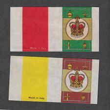 Etiquette boîte  allumettes Italie V41 Couronne