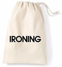 Ironing XL Lightweight Bag Printed Cotton Storage Laundry Cleaning Drying Uni