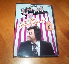 ARE YOU BEING SERVED? V.6 Volume 6 Classic British Comedy BBC TV NEW & SEALED