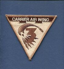 CVW-3 CARRIER AIR WING 3 US NAVY Aircraft Carrier Desert Squadron Jacket Patch