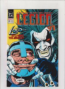 L.E.G.I.O.N. '91 #24 VF/NM 9.0 DC Comics Legion of Super-Heroes Lobo