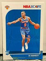 2019-20 NBA Hoops RJ Barrett RC Rookie Card New York Knicks Basketball