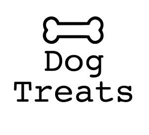Dog Treats Vinyl Decal Sticker - DIY Dog Treats Jar Label - 24 Colours