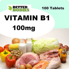 Vitamin B1 100mg Thiamin Thiamine 100 Tablets Mosquito Repellent Release Energy