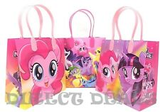 NEW! 12 pc Hasbro My Little Pony Party Favors Gift Toy Bags Birthday Candy Treat