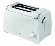 Krups KH 1511 Toaster Pro Aroma Weiß 2-Schlitz 700 Watt Brötchenaufsatz KH1511