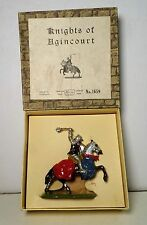 Britains Set #1659 Mounted Knight of Agincourt Charging w/ Mace & Box