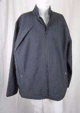 Tri-Mountain Gold 3 Season All Weather Fleece Lined Jacket Mens XL Gray Plaid