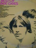 THE BEST OF THE BEE GEES - 1969 ATCO RECORDS VINTAGE VINYL LP - (FAIR/G+)