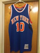 Mitchell Ness New York Knicks Walt Frazier size 48 authentic