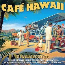 CAFE HAWAII - 50 AUTHENTIC HAWAIIAN TUNES - VARIOUS ARTISTS (NEW SEALED 2CD)