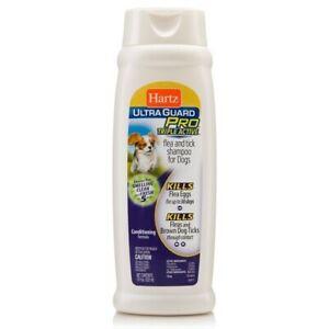 Hartz Ultra Guard Pro Triple Active Flea & Tick Shampoo For Dogs 18 oz