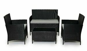 Evre Rattan Outdoor Garden Furniture Set Conservatory Patio (sealed Return)