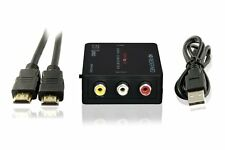 enKo Products Mini Composite HDMI To RCA CVBS AV Converter Input: HDMI; Output: