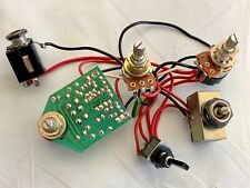 1988 Aria Pro II SLB Active Bass Guitar Original Wiring Harness Made in Japan