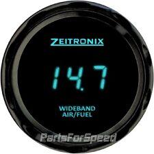 Zeitronix Zt-3 Wideband O2 Sensor System AFR & ZR-3 Black Gauge Blue LED