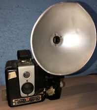 Vintage 1950s Kodak Brownie Hawkeye Camera Flash Model Box Camera