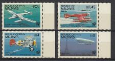 Flugzeuge  Malediven  1001 - 04  ** (mnh)