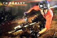 OAKLEY 2007 CEDRIC GRACIA mountain bike poster ~MINT condition NEW old stock~!!
