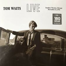 Tom Waits - Live at Ivanhoe Theatre, Chicago 1976 Vinyl LP - New & Sealed