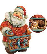 G DeBrekht Curious Kitty Santa Box 900 Piece Limited Edition 5 inch 519175