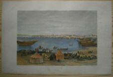 1863 Meyer print SUEZ, EGYPT (#1)