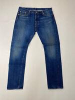 LEVI'S 501 S SLIM Jeans - W36 L32 - Blue - Great Condition - Men's