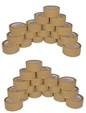 Klebeband 36 Rollen Paketband braun 66m super leise leicht Abrollend Paket Band
