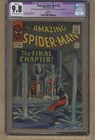 The Amazing Spider-Man #33 (Feb 1966, Marvel Comics) CGC 9.8 NM/MT Dr. Curt