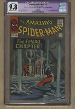 The Amazing Spider-Man #33 (Feb 1966, Marvel Comics) CGC 9.8 NM/MT Dr. Curt