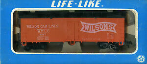 LIFE LIKE Wilson Reefer Car 08589 - HO - NEW In Original Box
