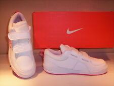 Chaussures de Sport Baskets Nike Pico III fille Sportif Cuir Blanc 34 35