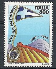 1997 ITALIA LEGA NAVALE ITALIANA MNH **