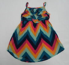 Roxy Kids Sz 5 Medium Dress Check Me Out