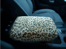 Armrest Covers For Center Console  (Center Console Cover) U3 -LEOPARD PRINT