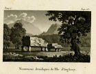 Antique Print-HISTORY-DOLMEN-DRUID-ANGLESEY-WALES-ENGLAND-Anonymous-ca. 1800
