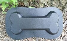 Dog bone plastic mold plaster concrete casting mould