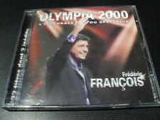 "CD ""FREDERIC FRANCOIS - OLYMPIA 2000, L'INTEGRALE DU SPECTACLE"" concert"